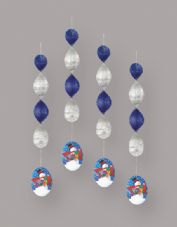 Snowman Gifts Christmas Hanging Party Decoration